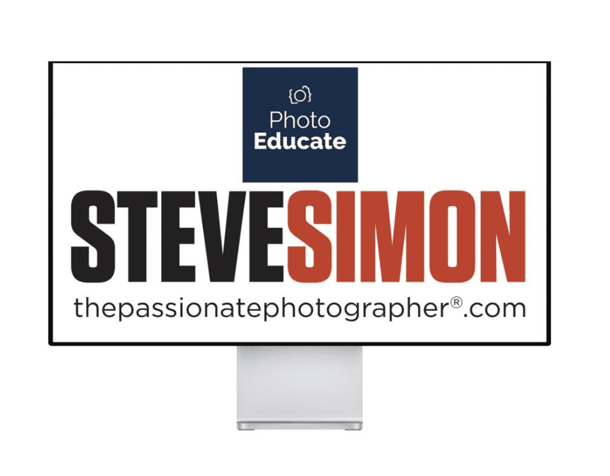 Passionate Photographer Online Sessions with Steve Simon